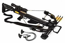 Bruin Ambush 370 Crossbow Package w/ Scope, Bolts, Quiver and Cocking Rope