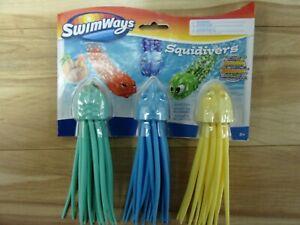 SwimWays SquiDivers 3-pack