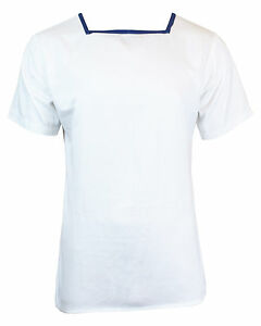 British-Navy-Mens-WHITE-SAILOR-TOP-All-Sizes-Original-Naval-Class-II-T-Shirt