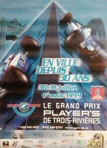 Poster-Grand-Prix-Player-039-s-Trois-Rivieres-1999-30th-anniversary