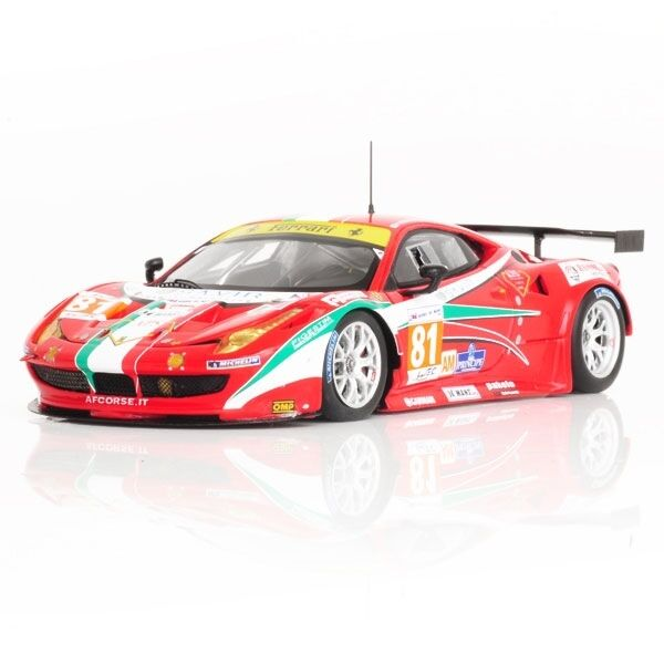 Ferrari 458 Italia Gte Pro  81 Team Af Corse 24h Le Mans 2012 Fujimi 1 43 Model