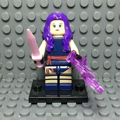 Psylocke Custom Minifigure Marvel Universe Minifigures X-Men
