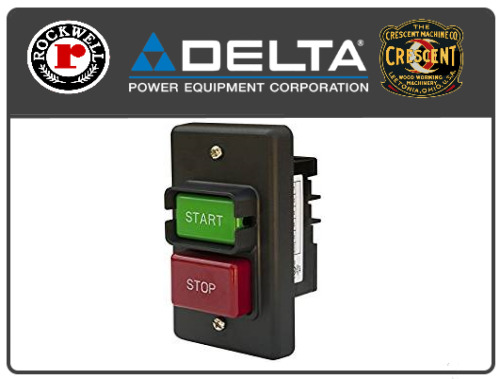 Delta Rockwell 905224 Unisaw Power Tool Start//Stop Switch 3HP