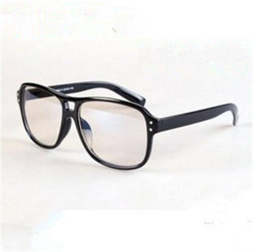 Cosplay Retro Computer Glasses Kingsman The Secret Service Black Frame Eyewear