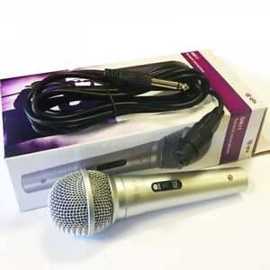 Microfono vocal dinámico para la grabación de Karaoke PA DJ Music Inc 3 M Plomo XLRF Jack