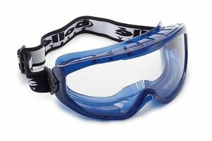 Bolle Blast BLAPSI Safety Goggles Wide Vision Anti Mist - 2,5 or 10 Pairs
