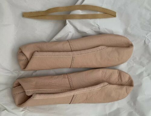 DANA Pink Leather Ballet Shoes