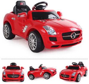Mercedes-Benz Kinder Elektro Auto Kinderauto Kinderfahrzeug Elektrofahrzeug rot Batteriebetriebene Fahrzeuge