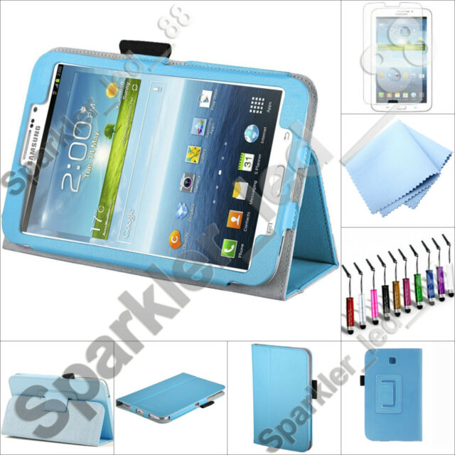 "For Samsung Galaxy Tab 4 7.0 Folio Case Cover w/ Stand 7"" T230"