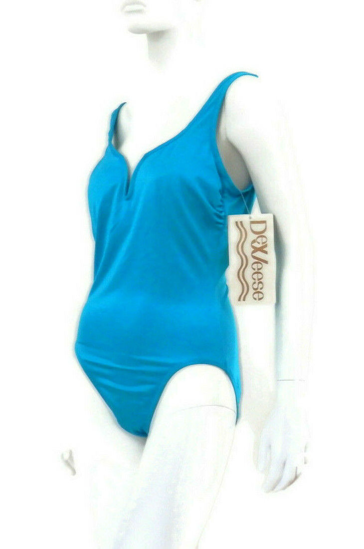 70's DeWeese Swimsuit Maillot Bombshell Bathing S… - image 4