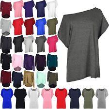 6186d9f569 item 1 Womens Plain Slash Neck Oversized Baggy Top Ladies Off Shoulder  Bardot T Shirt -Womens Plain Slash Neck Oversized Baggy Top Ladies Off  Shoulder ...