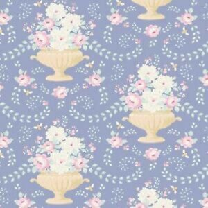 blue TIL100221-V11 Tilda Flowerbees Happy Camper