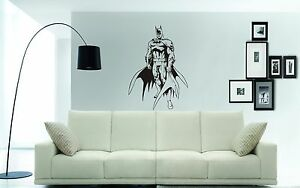 Image Is Loading BATMAN Wall Art Sticker Decal Mural Superhero Wall