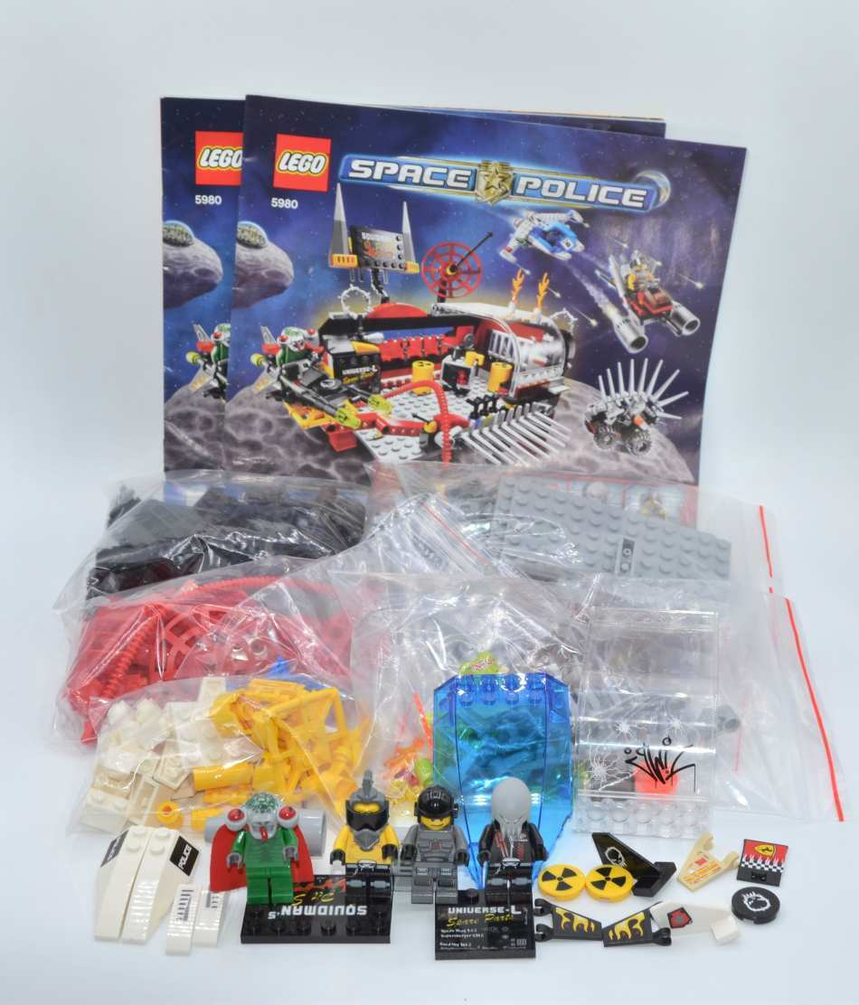 LEGO Set 5980 Space Police Squidman's Pitstop mit BA BA BA set with instruction fb9f1a