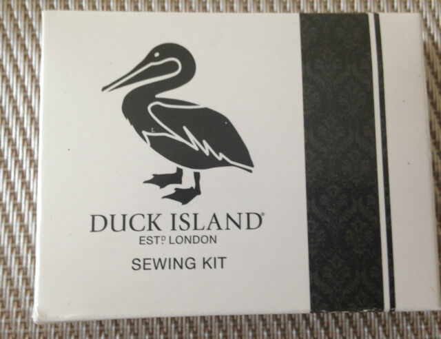 Duck Island Sewing Kit Hotel Bedroom Holiday Guest Accessories  x 5