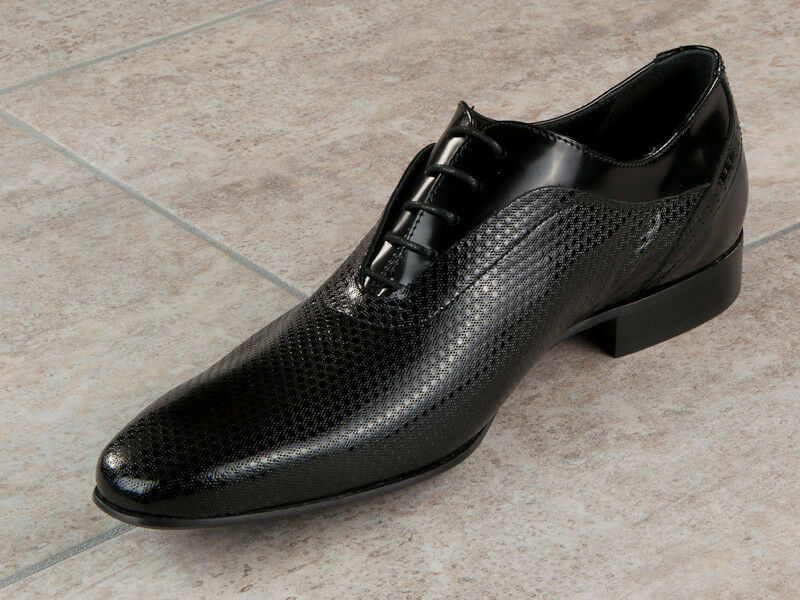 Eveet  Leather Italian shoes Size 6 Black New