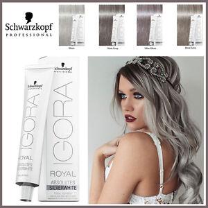 Schwarzkopf Igora Royal Absolutes Silver Grey Lilac