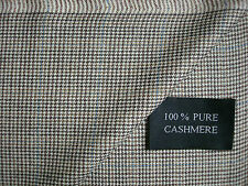100% WORSTED SPUN PURE CASHMERE SUITING/JACKETING FABRIC - 2.28 m. = £94.99