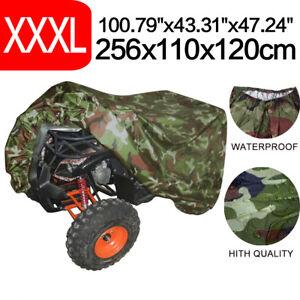 Universal-3XL-Wasserdicht-Quad-ATV-Garage-Abdeckplane-Abdeckung-Faltgarage-Staub