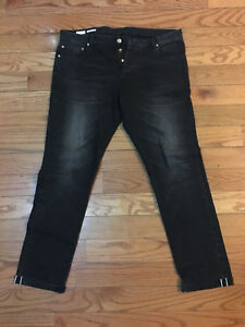 Jeans Black Objet Homme Fly Smith Collection Taille Button Wash Paul rare 36x32 pwfX4q