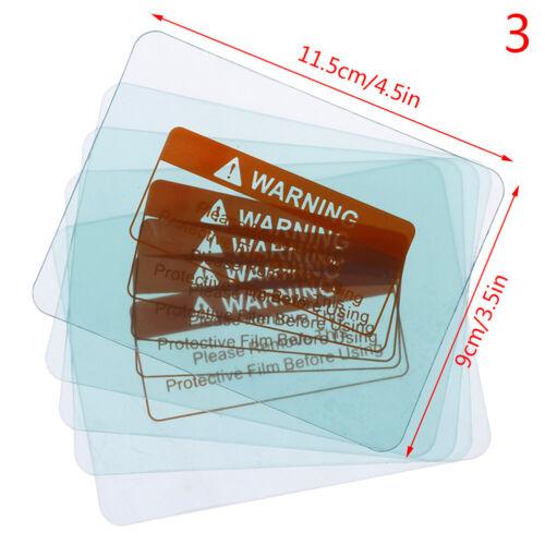 5pcs Spare Welding Shield Cover Lens Protector Plate for Welding Helmet Mask HV