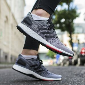 Details about NEW Adidas PureBoost DPR BOOST Men's Running Shoes Core Black White Red S80993