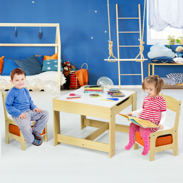 Costway BB5518NA 3 Teilig Kindersitzgruppen Set günstig