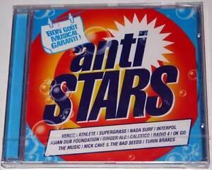 CD-album-ANTI-STARS-NEW-amp-Sealed-Supergrass-Venus-Nick-Cave-Interpol