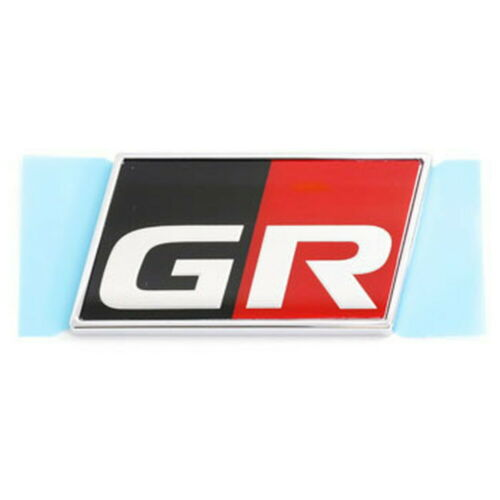 TOYOTA GR Side Emblem Logo Ornament Name Plate Symbol mark #6552 Genuine