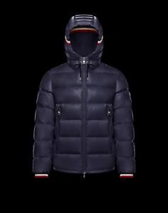 e52d88029 Details about Moncler New Alberic Giubbotto Laque Down Jacket Nwt Navy