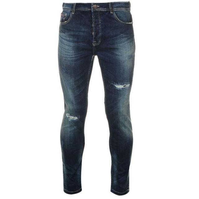 6d538249 Lee Cooper Rip Repair Jeans Vintage Wash 32r Td089 UU 13 for sale ...