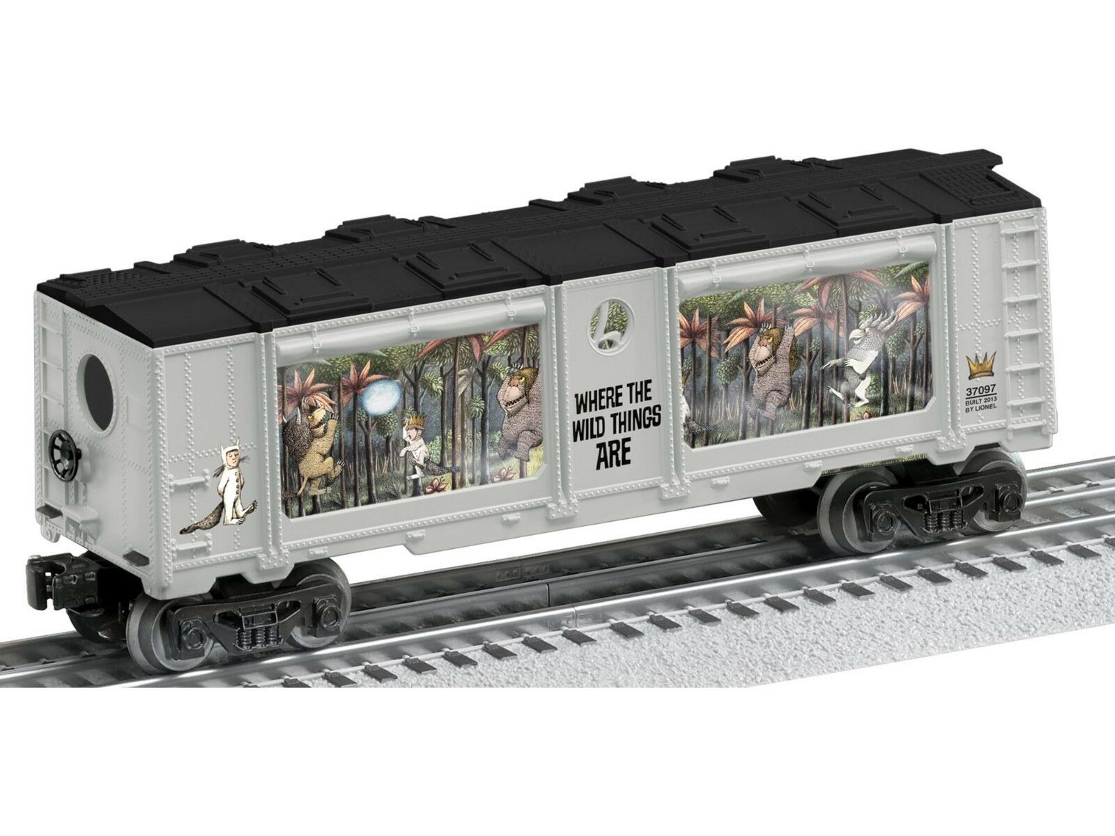 O-Gauge - Lionel -  Where The Wild Things Things Things Are  Aquarium Car 41f2b9