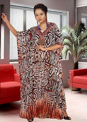 Resort wear for women silk kaftan tunic beautiful kaftan exotic designer print kaftan cruise wear kaftan