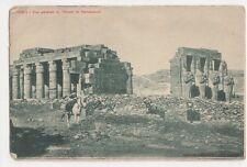 Egypt, Thebes, Vue Generale du Temple de Ramesseum Postcard, B200