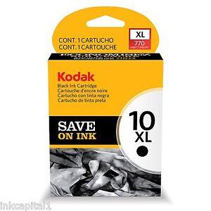 1x-Kodak-Series-10-10xl-Original-Oem-CARTUCHO-DE-TINTA-negro-770-paginas