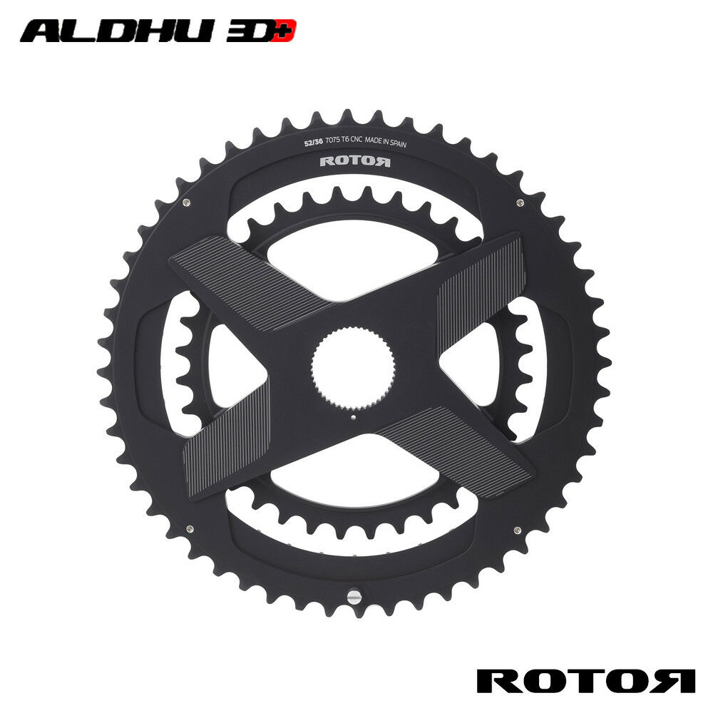 ROTOR Road Round Chairing ALDHU3D Spidering Direct Mount Noq Ringe