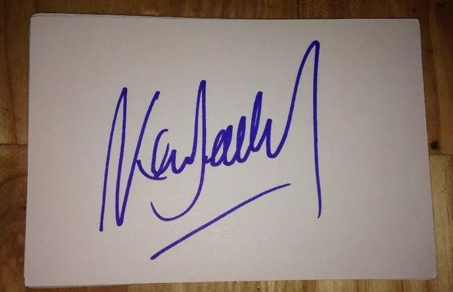 Ken doherty signé 6X4 carte blanche sport autographe snooker snooker autographe 100% authentique 57dd86