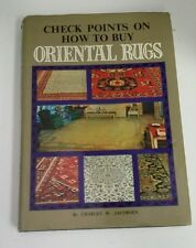 Check Points on How to Buy Oriental Rugs Book by Charles W. Jacobsen
