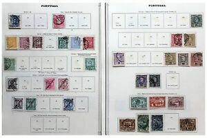 Portugal-1882-1910-collection-of-issues-to-include-ranges-from-King-Luis-Stamps