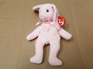 TY Beanie Baby Hoppity The Rabbit With Errors