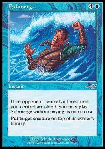Sommergere Submerge MTG MAGIC Nem Nemesis English