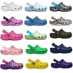 b93b83880b63b Crocs Classic Kids Roomy Fit Clogs Shoes Sandals in All Sizes 204536 ...