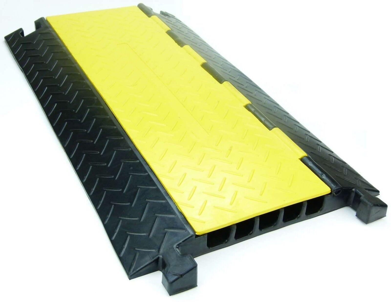 Sonstige Obligatorisch Gummi Endstück Für 1 Kanal Kabelbrücke Cable Board Überfahrschutz Schlauchbrücke Baustellengeräte & -ausrüstung