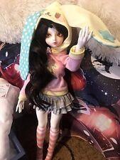 1/4 BJD LUTS MyChoiceModel Delf Girl*Nana Head*Includes: Faceup/Eyes/Wig/Clothes
