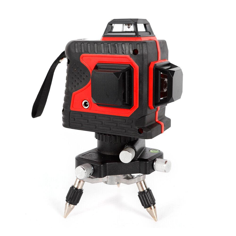 DE Puls MC Laserkopf Grün 3D-Laserlinie mit 12 Linien Selbstnivellierendes Rot