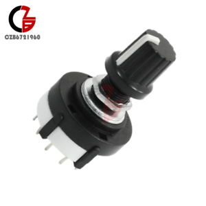 3P4T-3-Pole-4-Position-Single-Wafer-Band-Selector-AC-125V-Rotary-Switch
