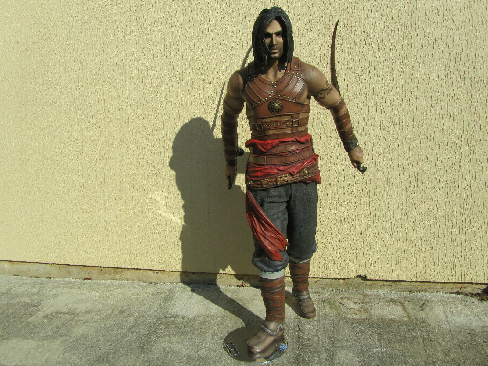 Figurine geant PRINCE OF PERCIA WARRIOR WITHIN Hauteur 1m90