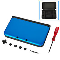 Nintendo 3ds Xl Full Replacement Shell Housing Case Blue Mint Brand Usa