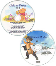 Childrens Bedtime Stories - 2 CD Set Free P&P Printed Cover Artwork FREE P&P