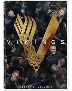 VIKINGS-Stagione-5-VOLUME-1-3-DVD-SERIE-TV-WARNER-BROS